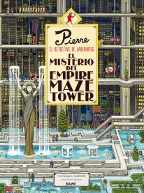 Pierre el detective. El misterio del Empire Maze Tower -
